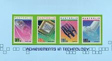 AUSTRALIA 1987-AUSTRALIAN ACHIEVEMENTS IN TECHNOLOGY POST OFFICE PACK MUH