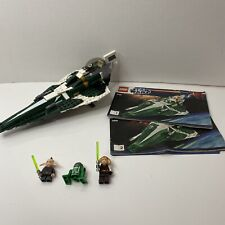 LEGO Star Wars 9498 Saesee Tiin's Jedi Starfighter 100% Complete + Instructions