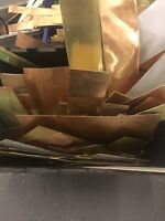 Copper sheet off cuts weight 1kg for Crafts Or melting down