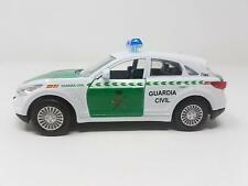 Coche Guardia Civil Miniatura en Metal Puertas Practicables. Med: 12,5 cm