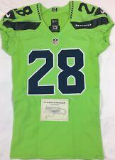 Nike Team Issued W/COA Seattle Seahawks Pierre Desir 2016 Color Rush NFL Jersey