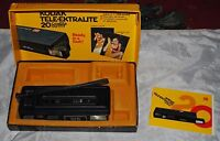 VINTAGE LATE 1970S VIVITAR TELE 603 110 CAMERA w/ Kodak tele-ektralite box