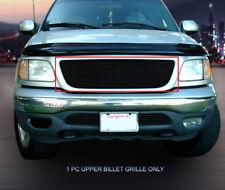 Fits 99-03 Ford F-150/Harley Davidson/Lightning Black Billet Grille Insert