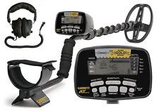 Garrett AT Gold Nugget Metal Detector- FREE Land Head Phones