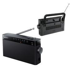 Genuine SONY ICF-306 Radio Portable AM/FM Radio Tuner Great-Sounding Music