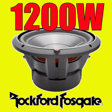 "Rockford Fosgate 12"" 12-inch 1200W CAR AUDIO Punch Bass Sub Subwoofer P3D412"