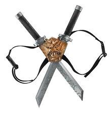 Dragon Ninja Blades Weapon Set Swords And Backpack Reenactment Accessories