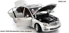 AUTOart 76263 Mercedes-Benz C-class Avantgarde silver scale 1:18