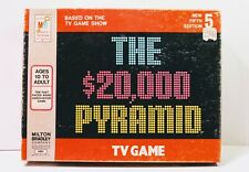 Vintage Game The $20,000 Pyramid from 1978
