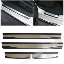 Fit For HONDA Accord 2018 2019 Door Sill Scuff Plate Guard Protector Trim 4PCS