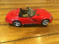 Burago Dodge Red Metal Viper RT/10 Model Car