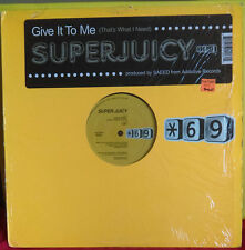 Superjuicy~Give It To Me(That's What I Need)~Saeed~LSS~Tech House~FAST SHIPPING