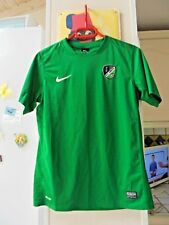 Maillot vert de football NIKE ALC LONGVIC 1973 taille M 13 / 15 ans TBE