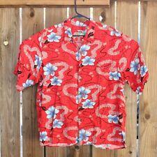 VTG Reyn Spooner Full Cut Hawaiian Camp Aloha Shirt Lei Tiny Bubbles Mens 2XL
