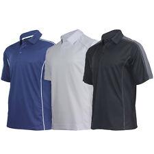 Men's Polo Shirt Top For Sports, Golf, Gym, Tennis, Biking Performance Activity