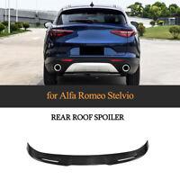 Cup Carbon Heck Spoiler Ansatz Dachspoiler für Alfa Romeo Stelvio Heck Flügel
