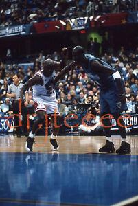 Michael Jordan vs Kevin Garnett - 35mm Basketball Slide