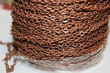 15ft Brass Red Copper 3.5x2.3m Chain Links 1-3 day Ship