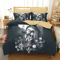 3D The Nightmare Before Christmas Jack Comforter Duvet Cover Bedding Sets Chic