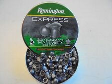 remington express hammer 5.5mm / .22 cal x 250pellets.