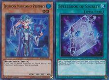Set Spellbook Magician of Prophecy BLLR-EN050 + Spellbook of Secrets YUGIOH
