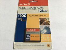 1pcs 128mb Sandisk Cf I Compactflash memory Cf I for Cf Nikon Canon cameras