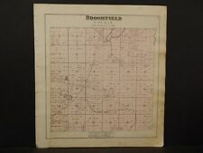 Michigan, Isabelle County Map, Broomfield Township  1879 Y5#79