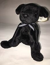 Ty Luke the Black Lab Beanie Baby Mint Condition RARE 1998/1999