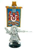 Warhammer 40k Space Marines Ultramarines Captain Cato Sicarius Metal OOP