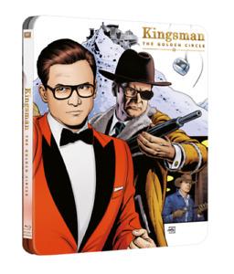 Kingsman The Golden circle Steelbook 4k UHD/BR New selaed UK release