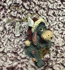 Rare Disney Exclusive Boyd's Collection Christmas Ornament Eeyore HoHoHo No Box