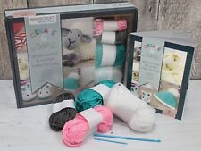 Crochet Beginners Kit for Baby with Wool, Crochet Hook, Needle & Instructions