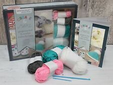 Whitecroft Knitting Crochet Kit for Babies - Includes Book Full of Cute Projects