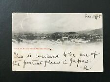 JAPAN 1908 VIEW OF KYOTO POSTED TO BRISTOL