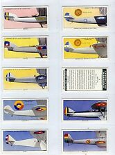 Full Set, Lambert & Butler, Aeroplane Markings, 1937 VG-EX (Ls405-332)