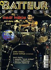 Batteur Magazine N°99 - Omar Hakim - Mars 1997