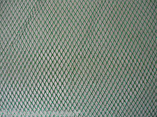 Green Metallic Mesh Nett 1 way stretch 50cm x 150cm Dance Costumes Craft