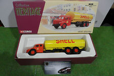 CAMION CITERNE BERLIET GLR8 SHELL jne/rge 1/50 CORGI 73201 miniature collection