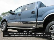 FORD F150 CHROME ROCKER PANELS FITS 2004-2008 XLT CREW CAB  5.5' BED