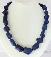 Natural Lapislazuli Collar (diseño piedra,forma natural,ejemplar