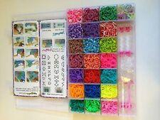 4200 + DIY Loom Starter Kit w/22 Mixed Colors + Bonuses
