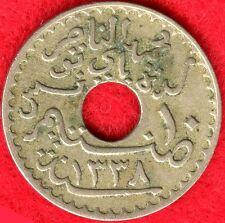 TUNISIA - 10 CENTIMES - AH1388-1920