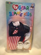 B16) TY Gear - UNCLE SAM - New Clothes for TY Beanie Kids