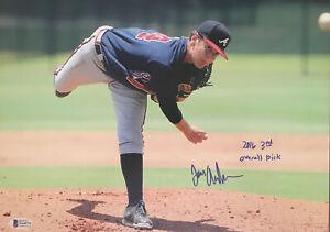 IAN ANDERSON 2016 3rd PICK SIGNED 11X14 PHOTO ATLANTA BRAVES AUTOGRAPH MLB AUTO