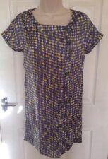 SPIRIT ladies check print dress size 8