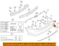 FORD OEM Rear Bumper-Parking Aid Reverse Sensor Retainer Bracket AE5Z15K861AA