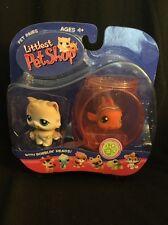Hasbro LPS Littlest Pet Shop Persian Cat Clownfish Pet Pairs 129 130