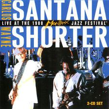 Santana Wayne Shorter Live 1988 Montreux Jazz Festival new 2CD 2005 Liberation