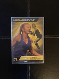 Les Mills Body Attack 78 DVD CD Instructor Notes