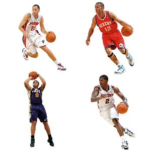 NBA TEAM PLAYER FATHEAD WALL ACCENT - Basketball Player Sports Peel Stick Decal